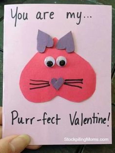 Toddler Homemade Valentines - Google Search