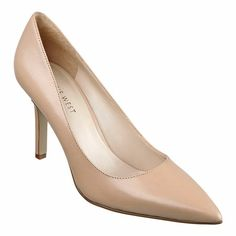 The classic must-have pointy toe pump with 3 1/2'' heel. This style is available exclusively @ Nine West Stores  ninewest.com.