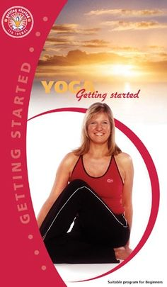 YOGA Getting Started by Lyn Thomas #Yoga #YogaDVD #LynThomas Yoga For Beginners, Get Started, Athletic Tank Tops, Yoga For Complete Beginners, Yoga Beginners, Beginner Yoga