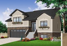 Discover the plan 3468 - Clayton from the Drummond House Plans house collection. Craftsman 5 to 6 bedroom home plan with 2 living rooms and double car garage. Total living area of 2729 sqft.