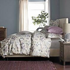 bedding idea Paper Leaf Wrinkle-Free Percale Duvet Cover & Sham