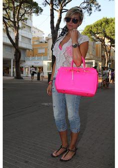 #Fluo Summer #bag #shopping