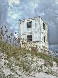North Topsail Island - Operation Bumble Bee Tower #5, I think