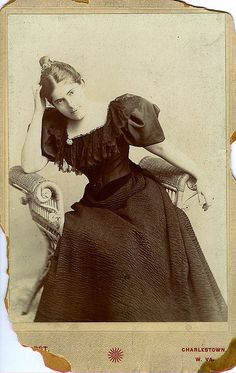 Charlestown, West Virginia Cabinet Card