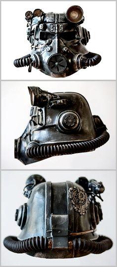 Fallout: Brotherhood of steel t45 helmet cosplay by TheTass on DeviantArt