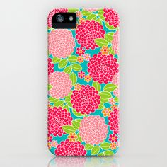 Dancing Dahlia iPhone Case by Diane Kappa - $35.00