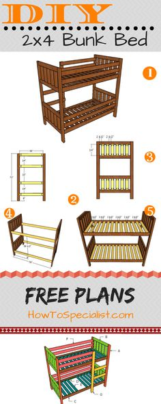 This is a picture of Priceless Printable Full Size Loft Bed Plans