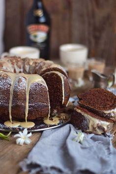 Baileys Schoko oder Eierlikör Schoko Gugelhupf Kuchen - Baileys Chocolate Bundt Cake (12)