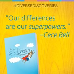 Find out why fifth grader Catriona loves Cece Bell's semi-autobiographical graphic novel, EL DEAFO on judynewmanatscholastic.com. #DiverseDiscoveries #JNBlog #Video #ElDeafo
