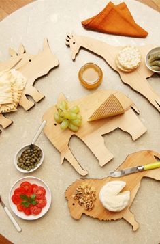 Adorable Animal Serving Boards.