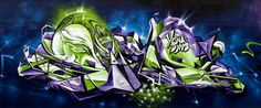 Your daily source for graffiti art photos, videos & news. Be inspired by the best graffiti styles, murals, street art, vandalism and fine art. Murals Street Art, 3d Street Art, Street Artists, Best Graffiti, Street Art Graffiti, Sofles Graffiti, Maleficent Dragon, Graffiti Artwork, Magazine Art