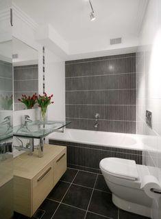 modle de salle de bain 3m2 aux murs blancs avec carrelage plancher fonc exemple vasque