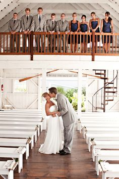 How adorable is this Boathouse Chapel at Bonnet Island Estate??