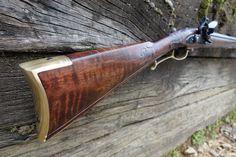 Flintlock Rifle, Black Powder Guns, Longhunter, Long Rifle, Mountain Man, Firearms, Old School, Rifles, American