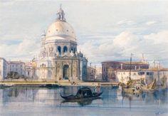 Santa Maria della Salute, Venice - William Leighton Leitch