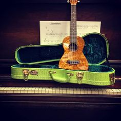 Hey, look! It's the ultimate Elton John Crocodile Rock Ohana Ukulele pairing! Ukulele and accessories are from Ohana.