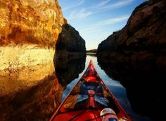 Intrepid Tomasz Furmanek spends his spare time gliding atop the waters in some Norway's most idyllic beauty spots and snapped the images with a GoPro from his kayak through the seasons. Kayak Fishing Tips, Recreational Kayak, Kayak Boats, Canoes, Kayak Adventures, Sequoia National Park, World Images, Back Road, Explore Travel