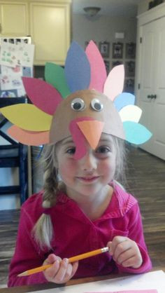 Yet another cute turkey hat. Can't get enough!