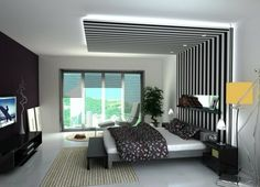 3 All Time Best Useful Tips: False Ceiling Bedroom Gray false ceiling design layout.False Ceiling Design For Passage. Fall Ceiling Designs Bedroom, Bedroom Pop Design, Ceiling Design Living Room, Bedroom False Ceiling Design, False Ceiling Living Room, Bed In Living Room, Modern Bedroom Decor, Living Room Designs, Bed Room