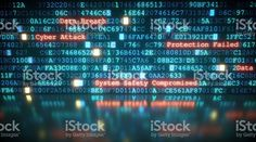 Cyber Attack A10 royalty-free stock photo