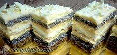 Érdekel a receptje? Kattints a képre! Hungarian Recipes, Hungarian Food, Cheesecake, Food And Drink, Sweets, Mac, Cookies, Romania, Poppy Seed Recipes