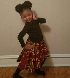 "Hi low Ankara skirt for little girls. - House of Adornment 116 Likes, 7 Comments - ♥ Ankara & Batik   Necoh (@houseofadornment) on Instagram: ""Lovely little lady in her House of Adornment hi low skirt."""