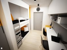 Pokój dziecka - zdjęcie od BIG IDEA studio projektowe - Pokój dziecka - BIG IDEA studio projektowe Modern Home Interior Design, Bonus Rooms, Present Day, Bunk Beds, Contemporary, Storage, Interior Detailing, Furniture, Kids Rooms