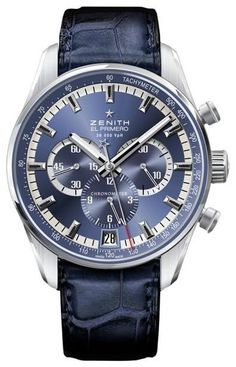 Zenith El Primero 36000 VpH Chronograph watch