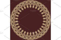 Victorian Design, Arabesque, Vector Pattern, Damask Patterns, Oriental, Graphic Design, Ornaments, Abstract, Creative
