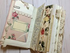Springtime Vintage Junk Journal by Beth Wallen! - The Graphics Fairy Printable Frames, Junk Journal, Journal Ideas, Graphics Fairy, Pattern Images, Kraft Envelopes, Vintage Books, Vintage Images, Spring Flowers