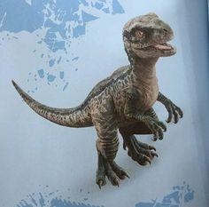 Jurassic World Fallen Kingdom New Blue baby photo