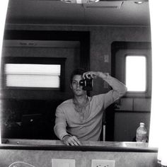 Jake Abel in his trailer on set of The Host (? Jake Abel, Youtubers, Love Box, Hot Actors, Personal Photo, American Actors, Percy Jackson, On Set, I Love Him