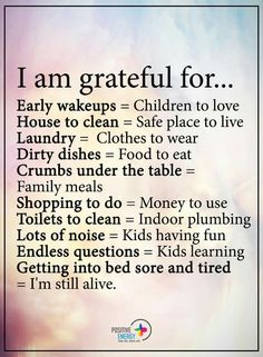I'm having an amazing day with my kids and am so very grateful for every one of these things <3