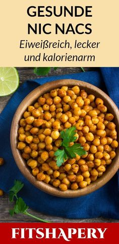 These Nic Nacs chickpeas are healthy, vegan and low in calories. Here you will find . - These Nic Nacs chickpeas are healthy, vegan and low in calories. Here you will find the complete fi - Easy Healthy Recipes, Healthy Snacks, Fitness Snacks, Vegan Fitness, Easy Fitness, Men's Fitness, Muscle Fitness, Gain Muscle, Muscle Men