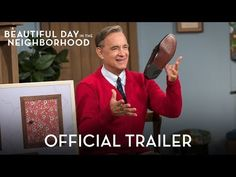 "Watch: Just Released Trailer for Fred Rogers Movie Starring Tom Hanks, ""A Beautiful Day in the Neighborhood"" is based on the unexpected (and true) friendship between Rogers and award-winning journalist Tom Junod, portrayed by Matthew Rhys. Fred Rogers, Mr Rogers Movie, Tom Hanks, Movies To Watch, Good Movies, Movies Free, Scary Movies, Cyberpunk, New Movies In Theaters"