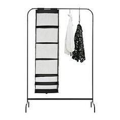 MULIG Garderobenständer - schwarz - IKEA