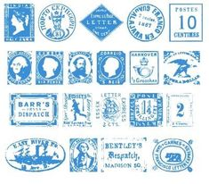 postage stamp font from dafont by Dixie's Delights. Vintage Typography, Typography Fonts, Lettering, Old Stamps, Vintage Stamps, Stamp Font, Airmail Envelopes, Graphic Design Fonts, Fun Mail
