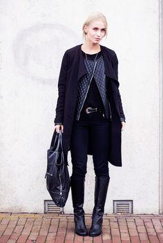 Fashion Attacks / all black
