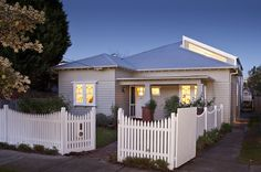 Contemporary Exterior by Bild Architetcture.In the 1920s and 1930s, the California Bungalow made its mark on Australian soil. It was a new style of architecture designed for a more informal and modern lifestyle. Single-storey, with a front porch, verandah pylons, and a simple layout – it has beautiful street appeal.