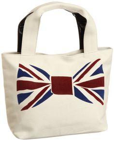 Union Jack bowtie Cachecache bag
