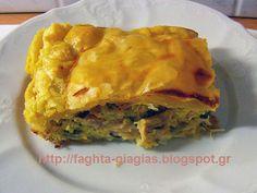 Κοτόπιτα με καρότα - από «Τα φαγητά της γιαγιάς» Savoury Cake, Spanakopita, Apple Pie, Lasagna, Tarts, Ethnic Recipes, Desserts, Food, Cooking Recipes