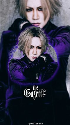 Ruki The Gazette, Drum Band, Best Rock Bands, Types Of Music, Visual Kei, Music Bands, Fangirl, Anime, Singer