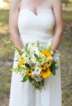 More sunflower bouquets
