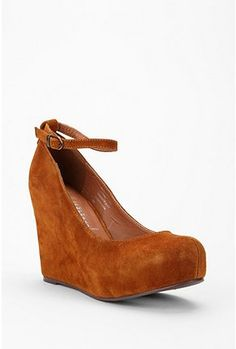 Jeffrey Campbell wedges.  I want strappy wedges!!!