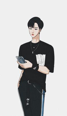 #truebeauty #seojunhan #bae🎈the secret of angel Wallpaper Qoutes, Angel Wallpaper, Photo Editing Vsco, My Romance, Webtoon Comics, Manga Boy, Boy Art, Character Illustration, True Beauty