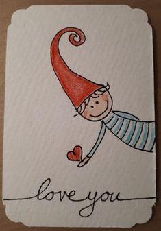 christmas doodles Doodle Zeichnung se K - Watercolor Christmas Cards, Christmas Drawing, Watercolor Cards, Christmas Art, Doodle Drawings, Cute Drawings, Doodle Art, Cute Cards, Diy Cards