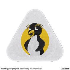 Rockhopper penguin cartoon bluetooth speaker