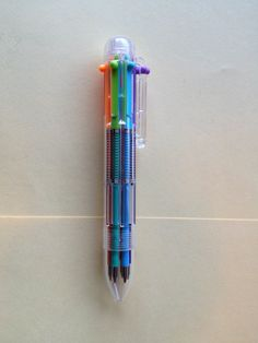 multicolour pen 90s stuff: admit it, we all tried to pull two colours at the same time