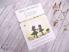 See unique birthday items and great ideas for bday lays out for all on your private present. Birthday Surprise Boyfriend, Birthday Gifts For Husband, Sister Birthday, Sister Gifts, Mother Day Gifts, Sister Bracelet, Morse Code Bracelet, Sorority Gifts, All Gifts