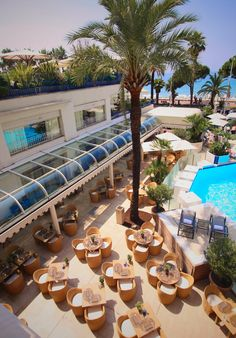 My Luxury Life: Grand Hyatt Cannes Hotel Martinez — France